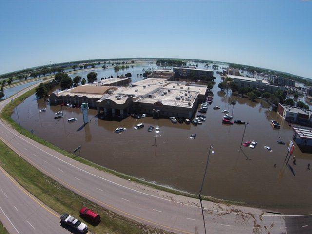 Holiday Inn flooded