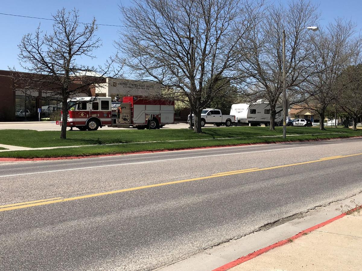 Police, fire investigate suspicious package at post office