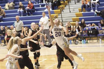 Gering girls top Newcastle 56-44