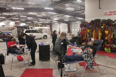 Successful Hemingford Community Blood Drive