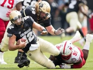 Colorado quarterback Steven Montez says Huskers 'talked themselves out of the game'