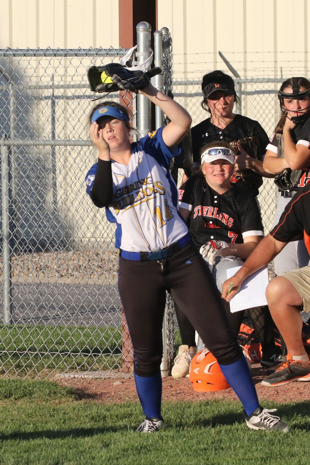 Gering senior softball player Victoria Brady taking in her final season with passion