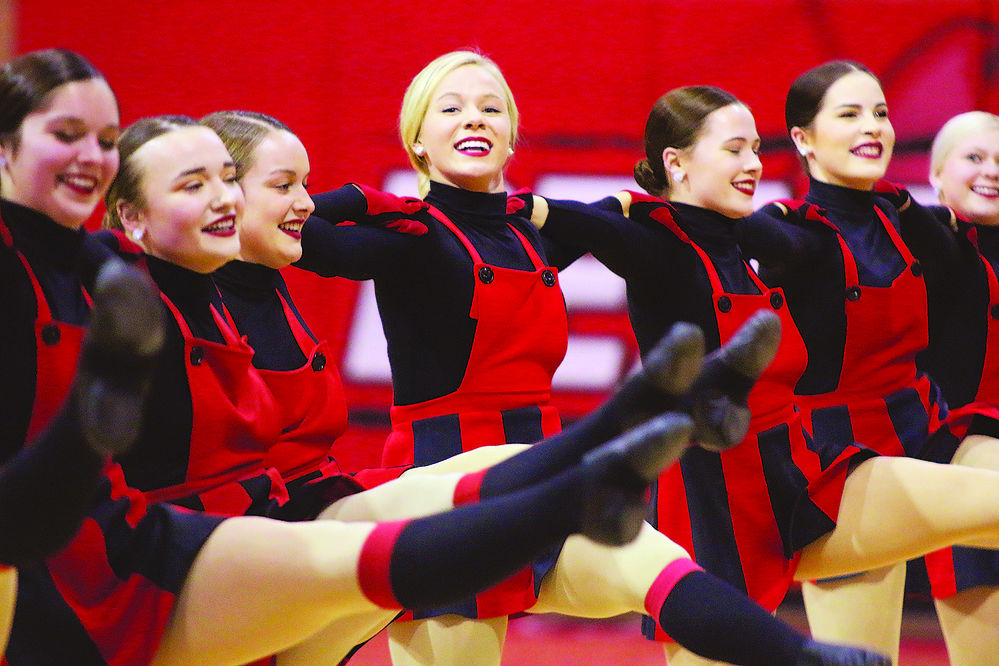 Scottsbluff High School Drill Team wins 13th straight state tile, competes at nationals