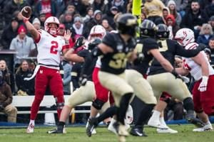Halftime: Huskers started strong, but fell apart and gave up their lead