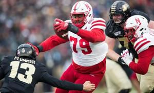 Husker defensive line trio weighs in at NFL combine — and Darrion Daniels trimmed up