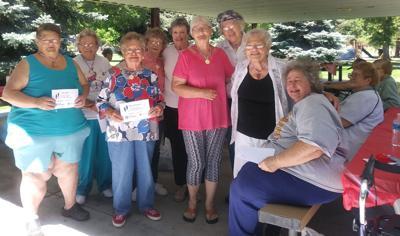 Foster grandparents celebrate summer fitness training