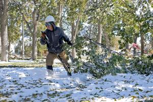 Community begins winter storm cleanup