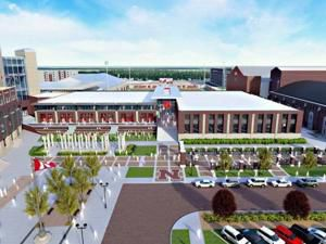 Construction of Huskers' $155 million football facility delayed due to pandemic, budget concerns
