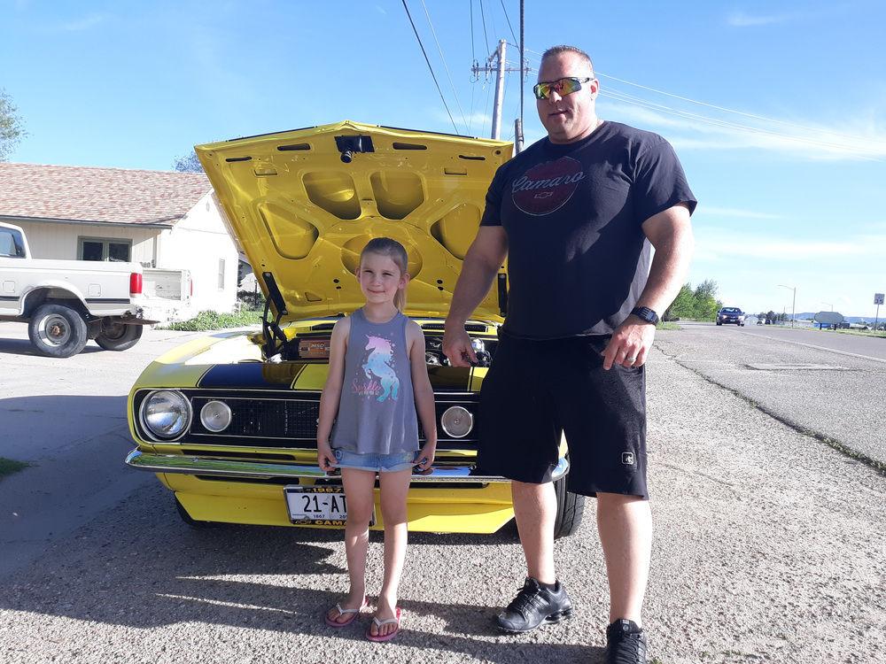 Girl, named Camaro, gets ride in namesake car as birthday wish