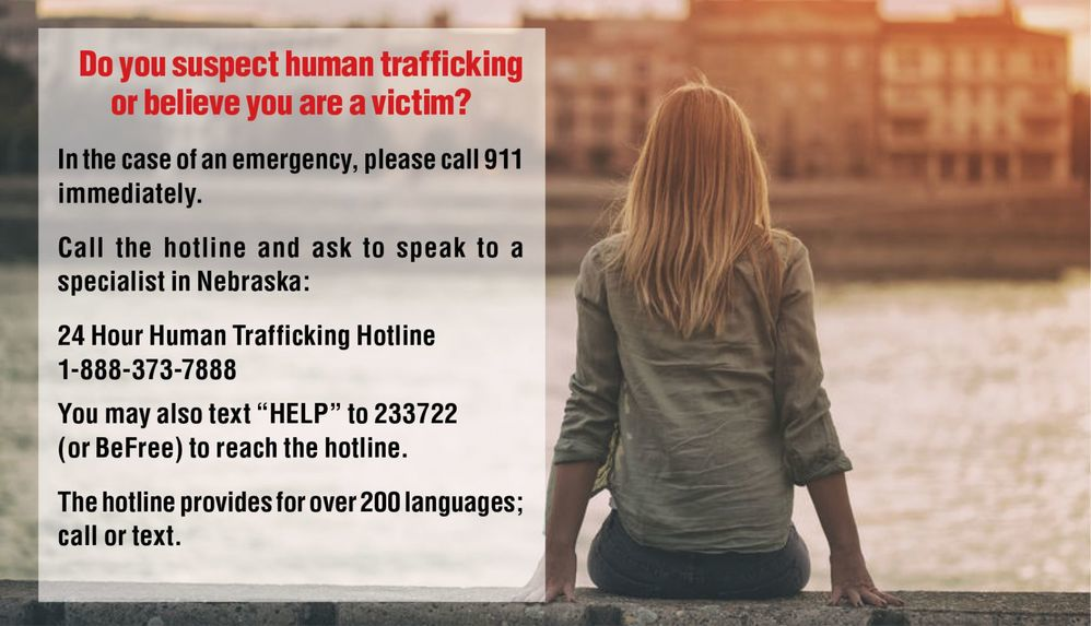 Four hundred people trained on human trafficking during