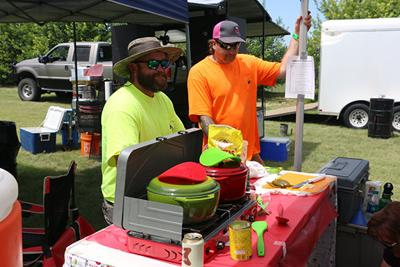 Chili cooks come from far and wide to participate in Oregon Trail Days cook-off