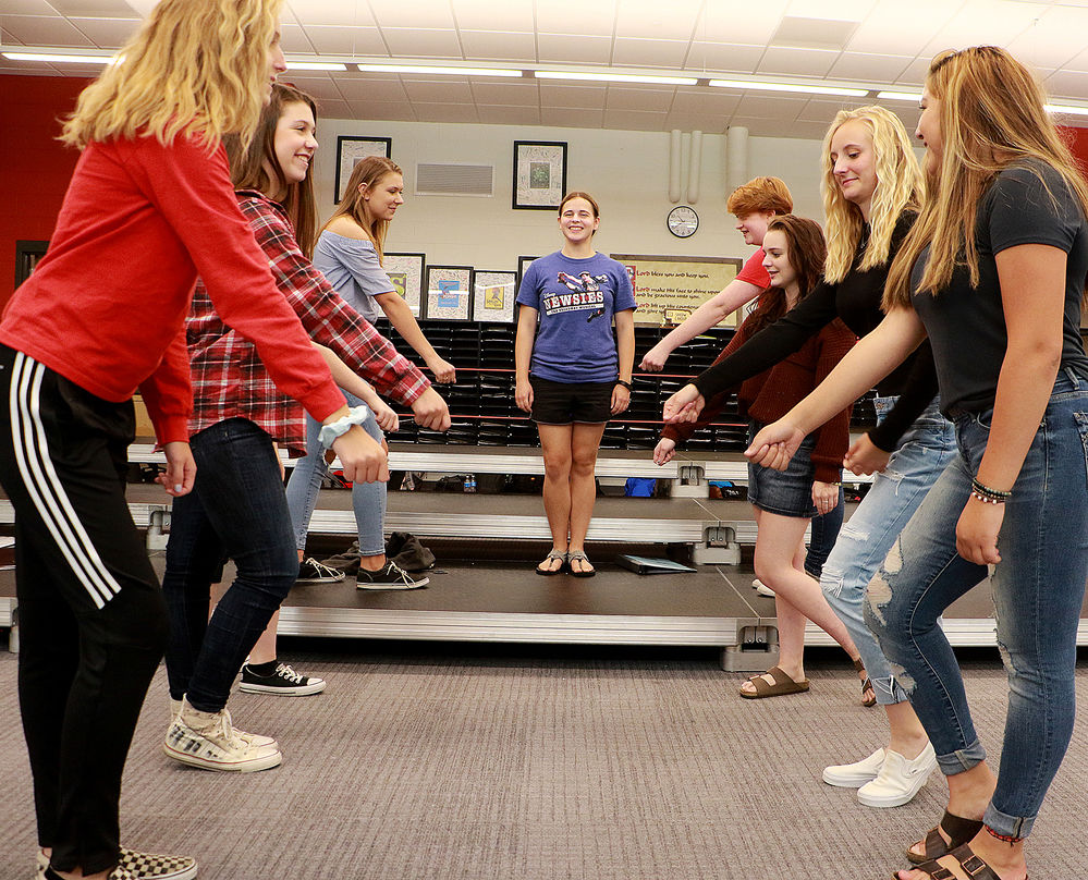 SHS students showcasing Broadway tunes during Serenade Saturday
