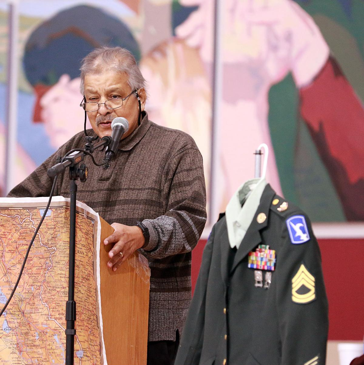 Chicano/Mexican-American military service memorial unveiled in Scottsbluff Monday