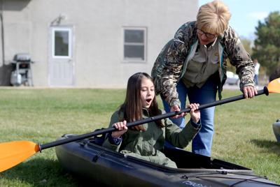 """Learning about water"""" Area fifth graders get hand-on lessons about water, environment"""