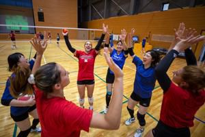 Husker volleyball team goes 2-2 in Japan. Next stop is China for four more matches