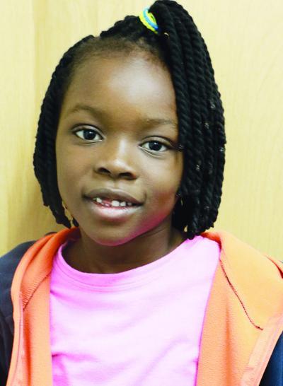 STUDENT STAR OF THE WEEK: Deborah Sunmbola, Northfield Elementary first grader
