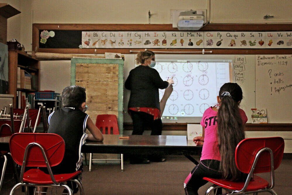 Summer school gives masks, social distancing a test run in education