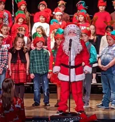 Torrington third graders perform for the holidays