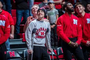 Huskers name teen who lost part of leg to cancer wrestling captain; 'He needs that more than anything right now'