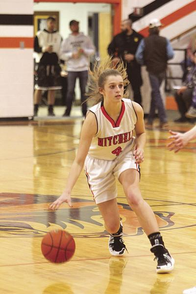 Southeast girls hold off Mitchell 50-48