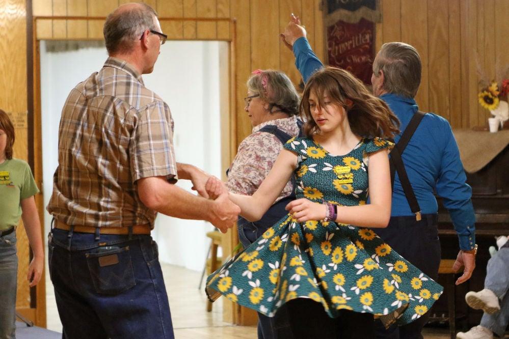 PHOTOS: Square dancing lessons
