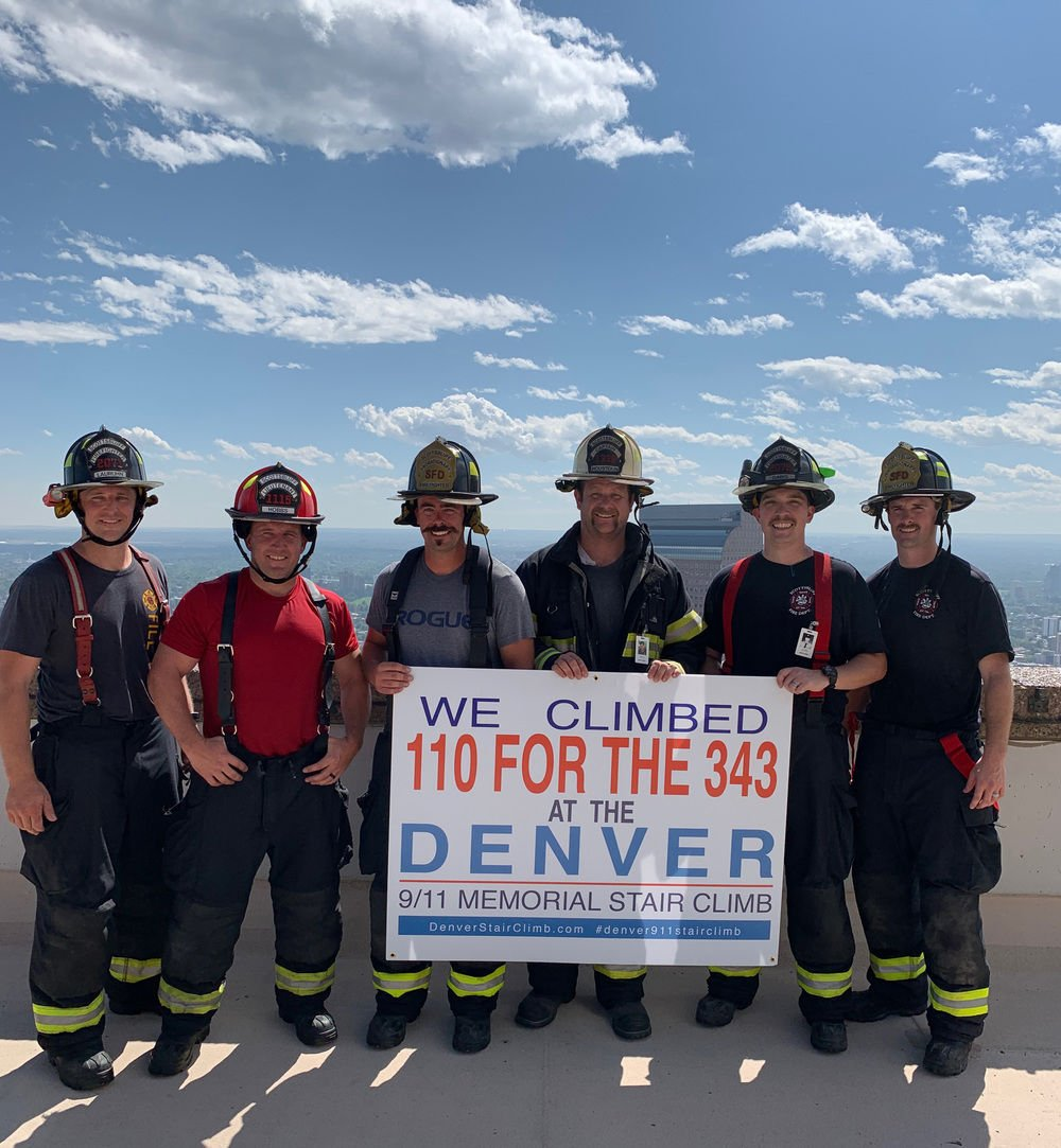 Climbing to remember: Six Scottsbluff firefighters take part in Denver Metro Firefighter's 9/11 Memorial
