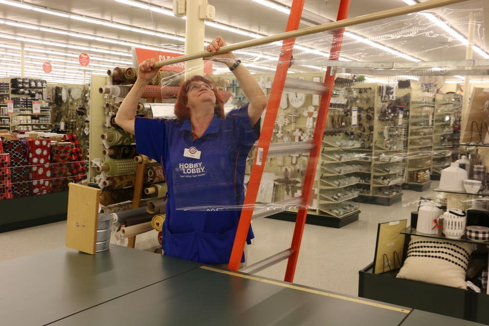 Crafting, art, hobby supplies selling well during pandemic