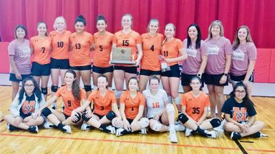 4-PEAT! Mitchell volleyball team wins fourth straight WTC tourney title