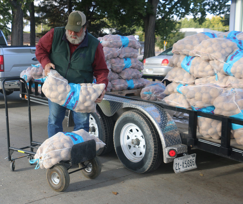 Legacy of the Plains donates surplus potato harvest to local organizations
