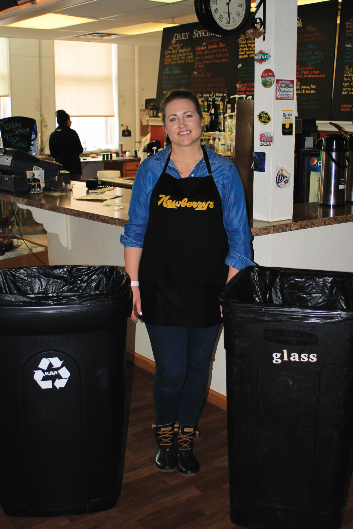 KEEP ALLIANCE BEAUTIFUL: Recycling At Newberry's