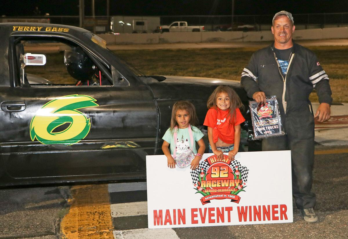 Terry Gass donates proceeds from auto racing to Special Olympics