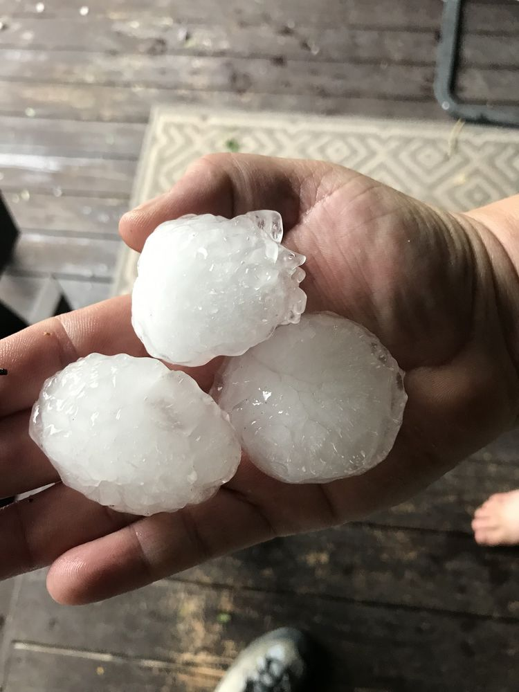 More severe weather foretasted in wake of damages left by two hailstorms