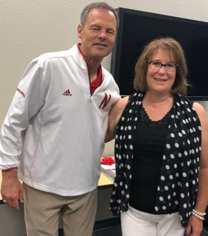 Developers learn from volleyball great University of Nebraska volleyball coach John Cook