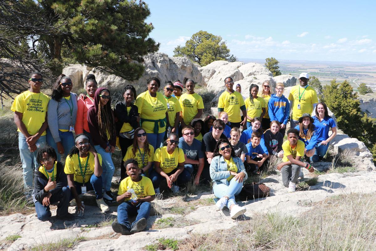 PHOTOS: Gering Junior High Pen Pals Scotts Bluff National