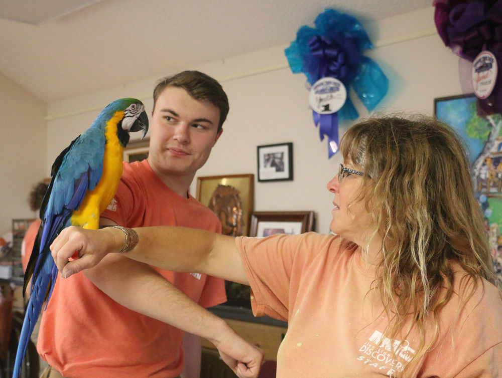 Interns get unique opportunities to work at local zoo over summer months