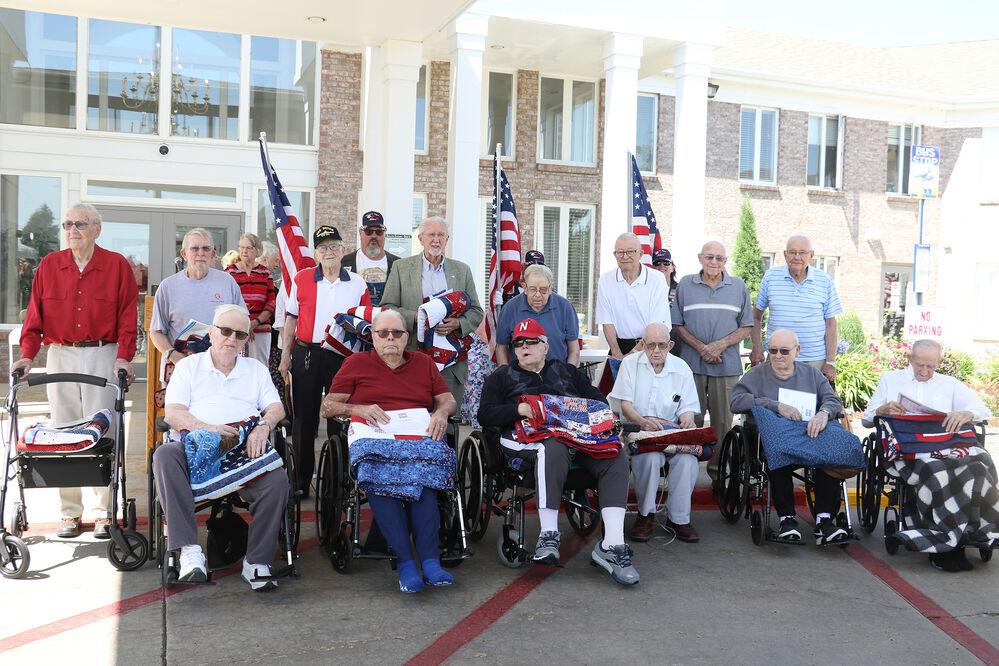 Sixteen veterans receive Quilts of Valor