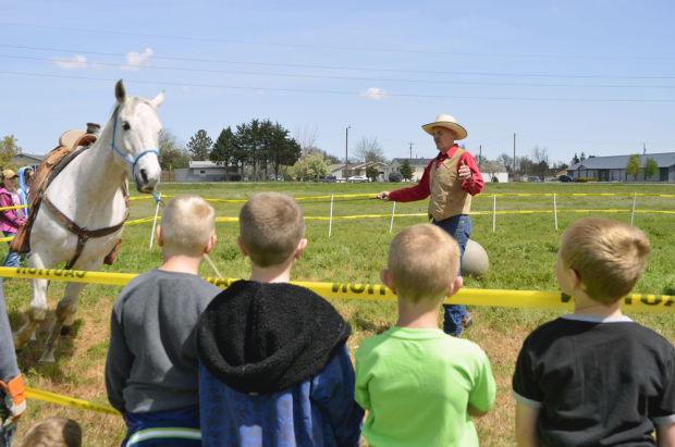 Teaching the values of horsemanship