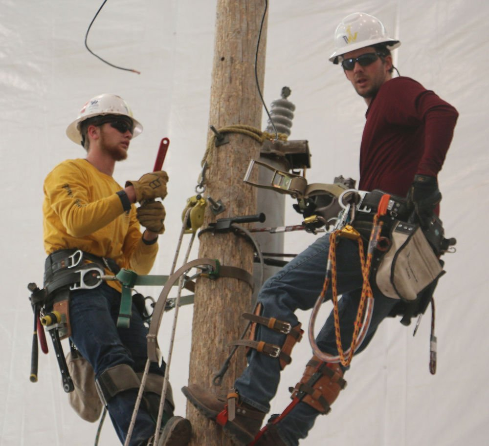 WNCC powerline school not for the faint of heart