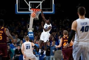 NBA Summer League: Former Creighton standout Khyri Thomas scores game-high 26 points