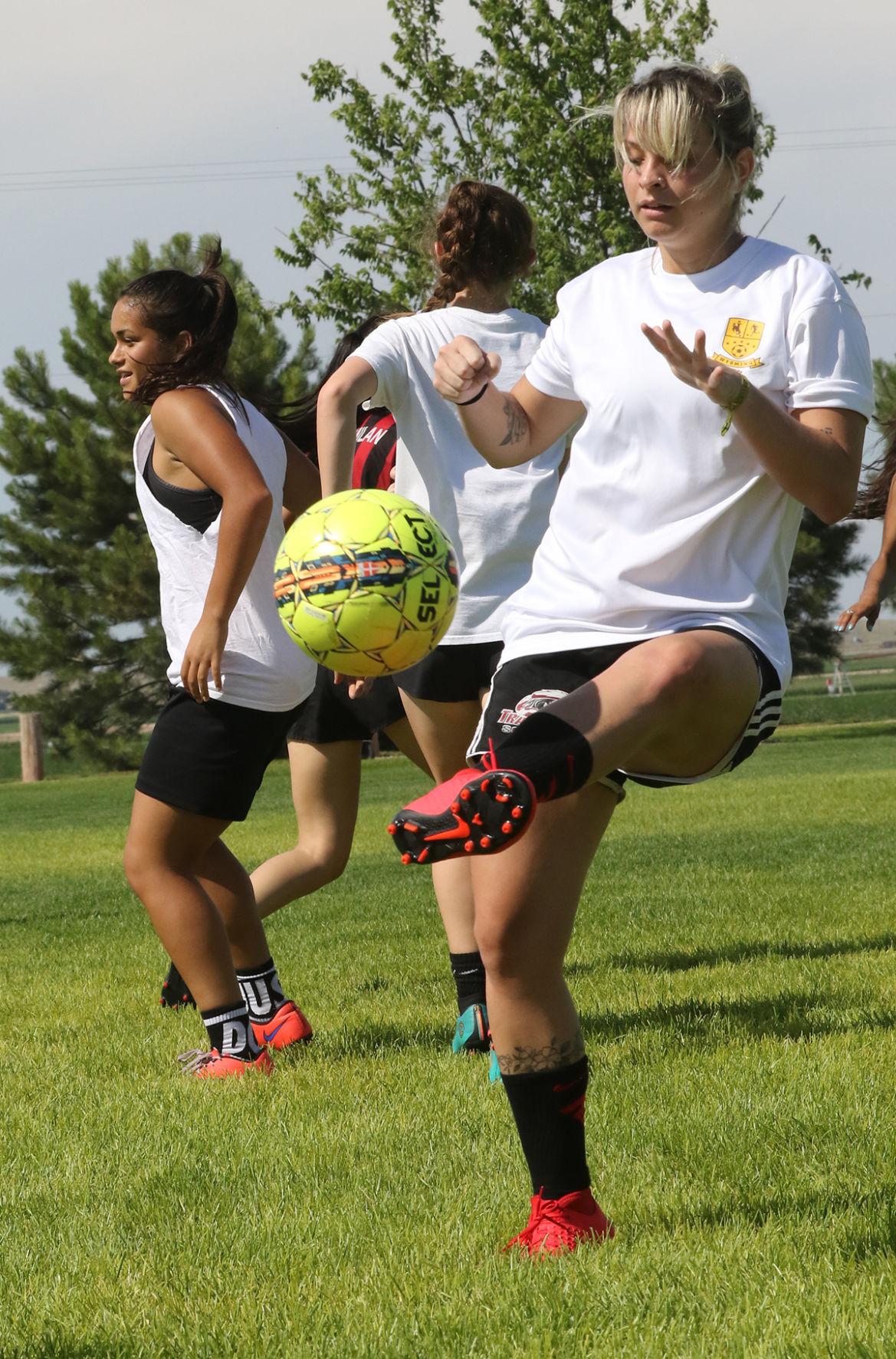 Photos: WNCC soccer practice