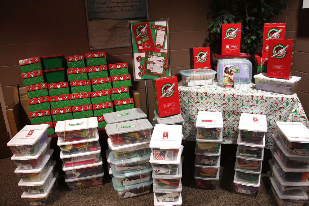 Operation Christmas Child celebrates National Collection Week