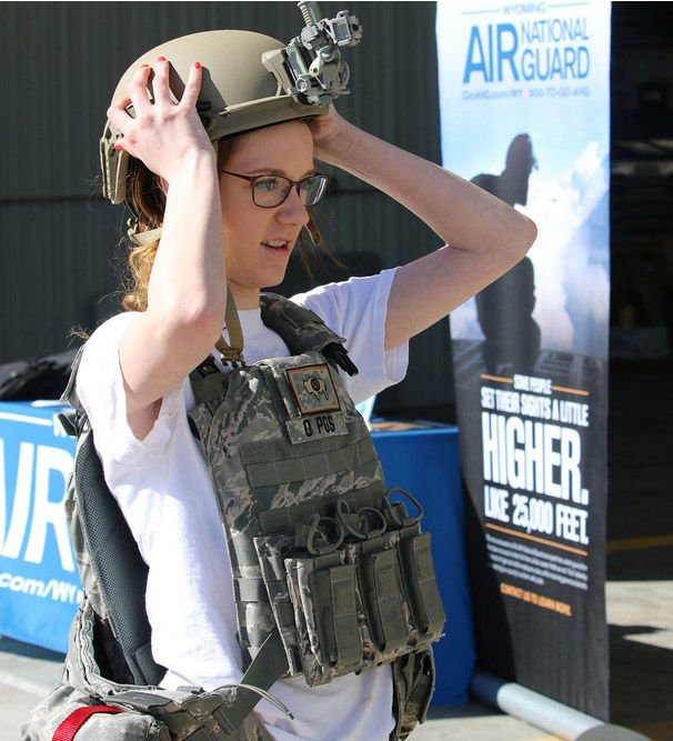 Career opportunities shared by members of Air National Guard