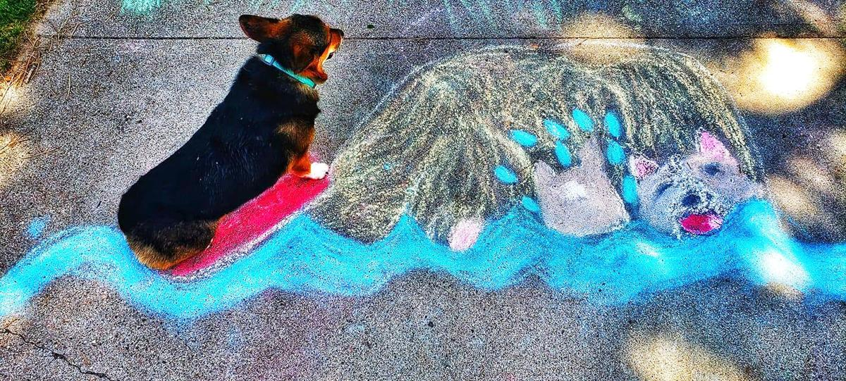 Vote for Chalk the Block Art Contest Winners
