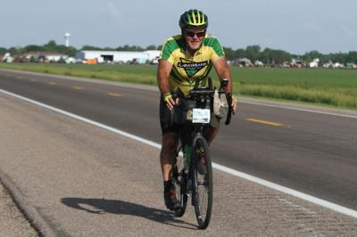 Kearney man halfway through Trans America Bike Race, a 4,200-mile ride