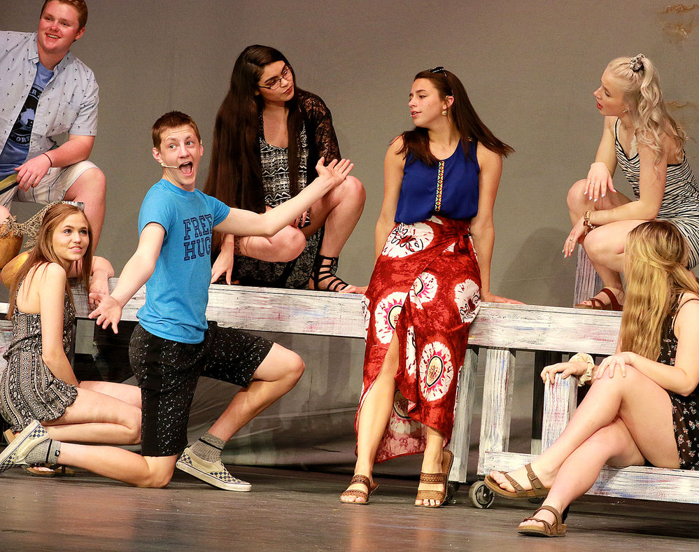 Donna gets married, romance is rekindled in GHS music department's production of 'Mamma Mia'