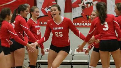Chadron's McCartney named region's top volleyball player for third time