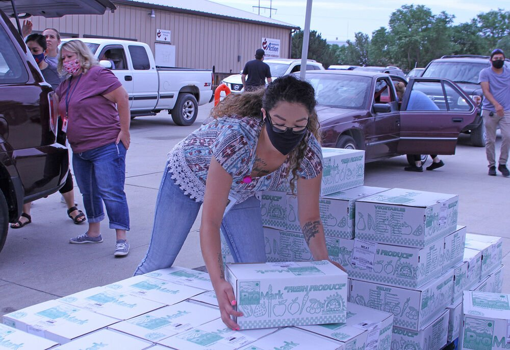 275 people served at CAPWN food distribution