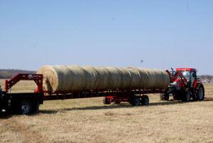 Red Ox Hay Trailer