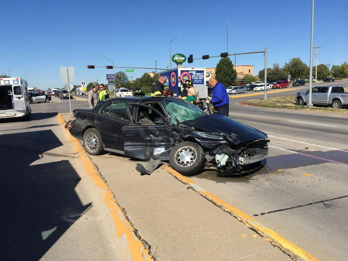 At least one injured in crash