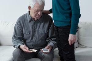 Financial exploitation is the number one concern when it comes to elder abuse